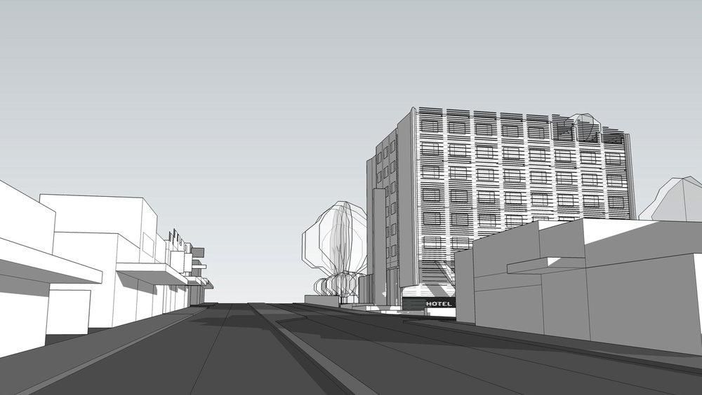 MEL-DA hotel concept perspective street view RDO.jpg