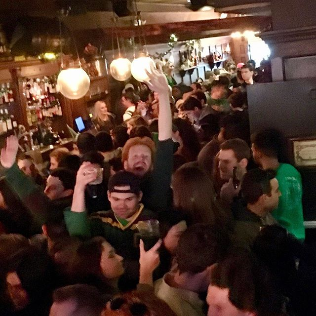 Happy Paddy's Day from our family to yours #🍀 #stonestreet #paddysday #thecauldronnyc