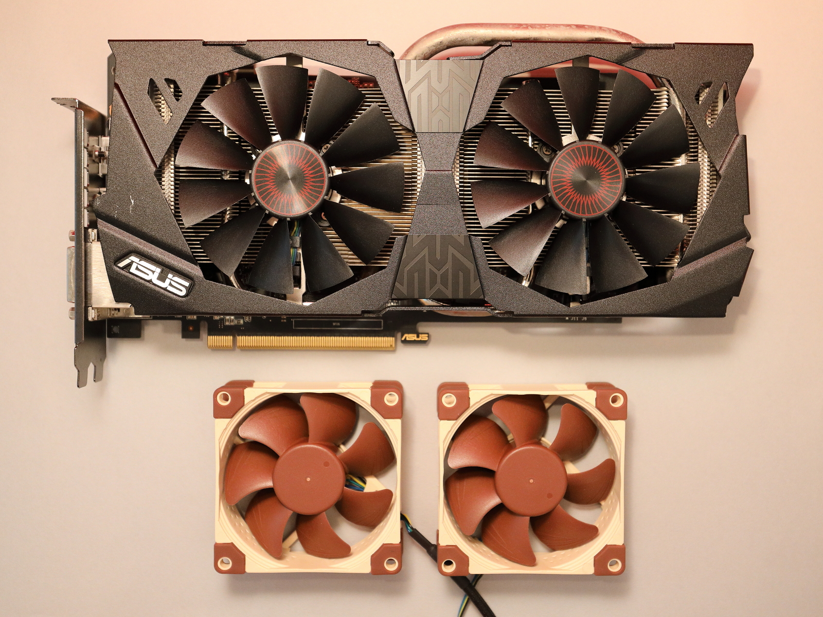Modding My Graphic Card With Noctua Fans The Fancy Obsession Switch Wiring Pc Fan Cool Your Guide To A Very Highly Addictive World