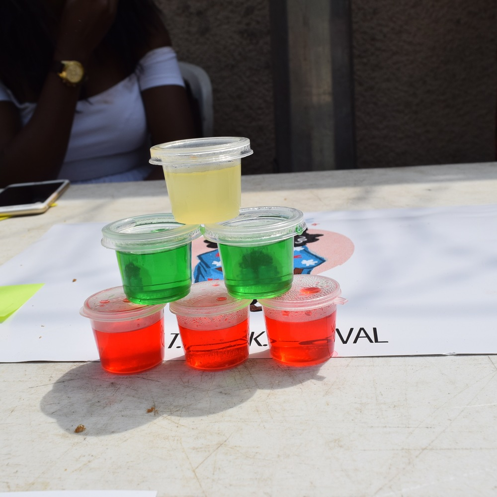 What Dami Did Jello shots EDL Festival 1