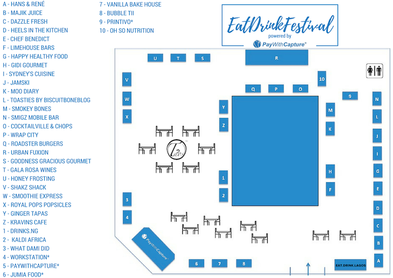 EDL Festival Map