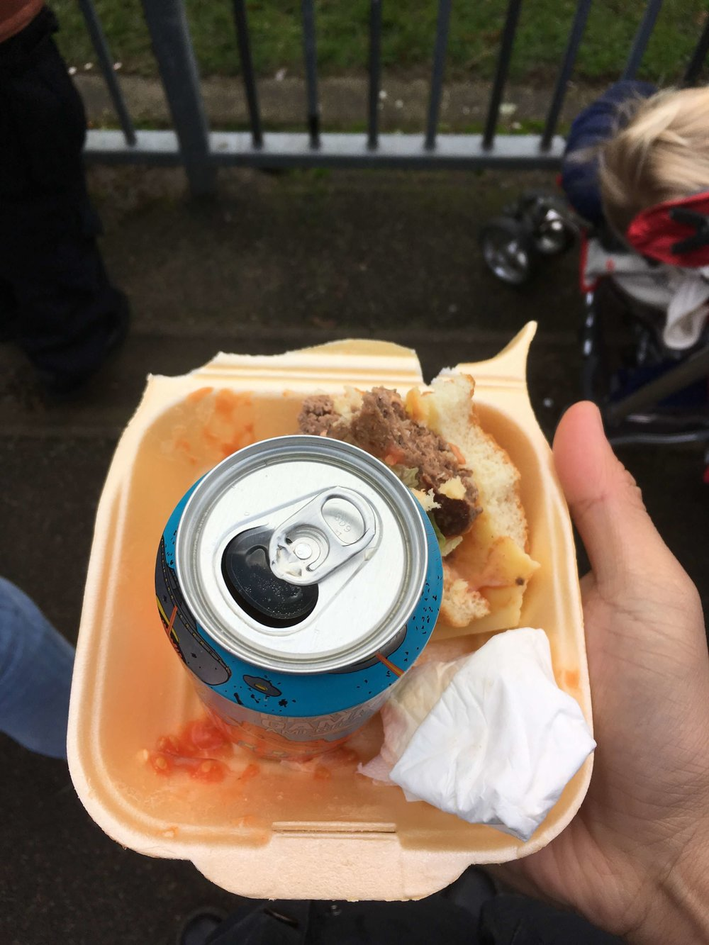 Burger and Beer at Dulwich …