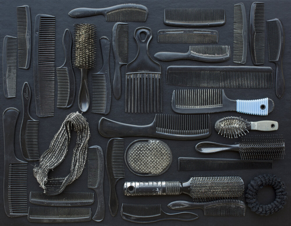Black Combs and Brushes
