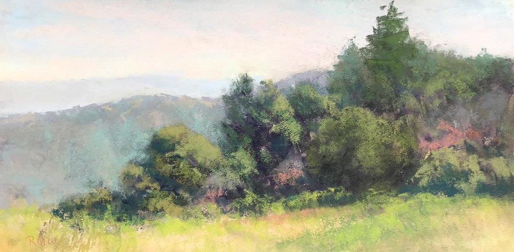 Fall Morning, Skyline Ridge