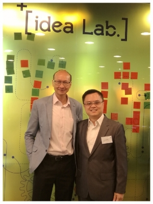 Ir. Peter Yeung (left) and Mr. Leo Tong (right)