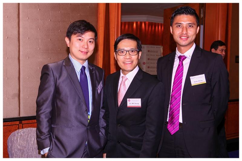 Mr. Jacob Wai (left)