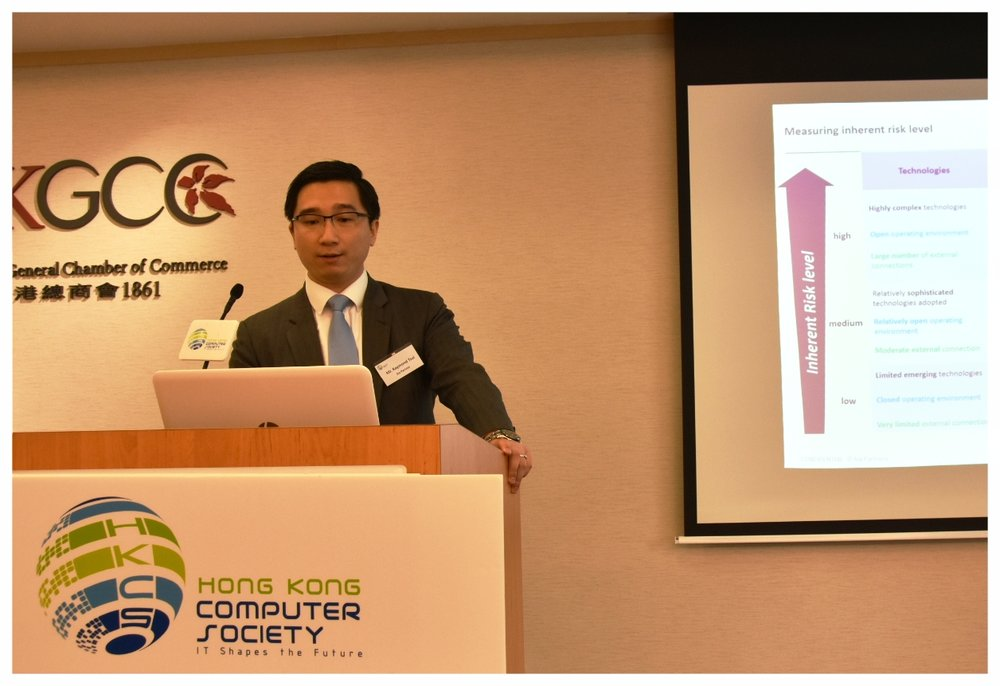 Mr. Raymond Tsui, Manager at Sia Partners, delivered a presentation.