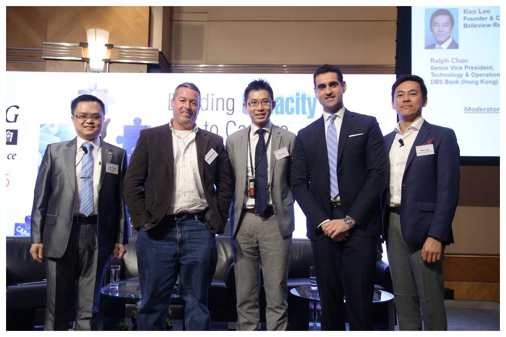 Mr. Leo Tong (left)
