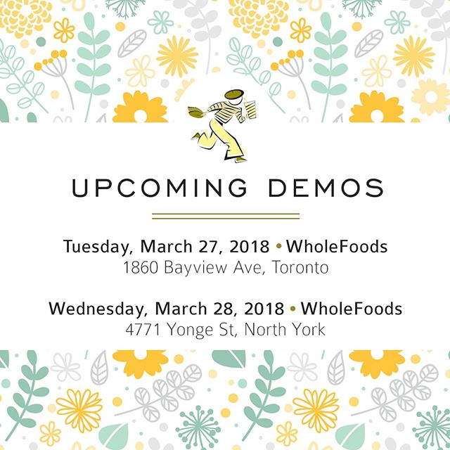 Would you like to try Limonana? Are you wondering where you can buy it? We invite you to join us at the WholeFoods on Bayview on Tuesday and the WholeFoods on Yonge St. in North York on Wednesday. Come by and say bonjour! - -#Toronto #NorthYork #WholeFoods #TorontoDrink #TorontoFood