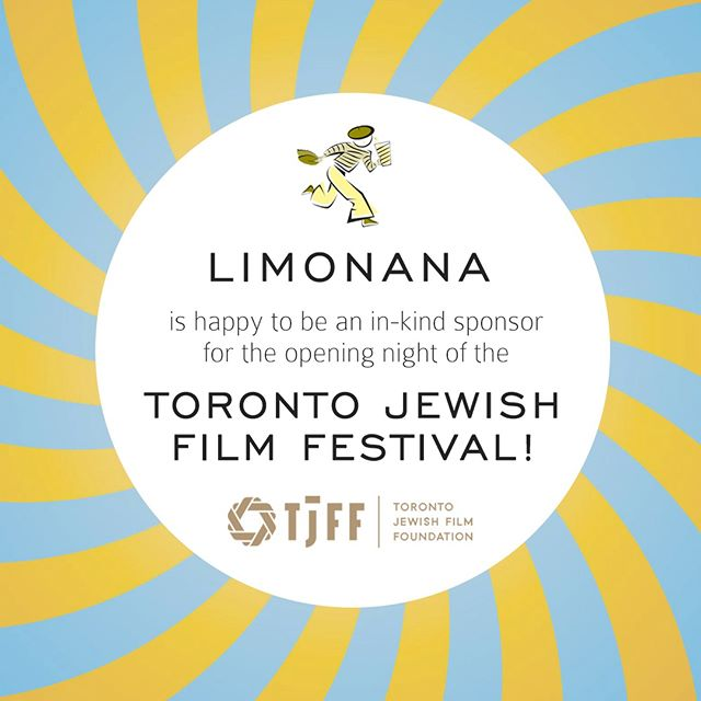 Enjoy Limonana at the opening night of the Toronto Jewish Film Festival (May 3 to 13, 2018). It's a wonderful festival and we hope you'll come and enjoy the films and Limonana on us! TFJJ.com @tjffgrams #TJFF2018 #Toronto