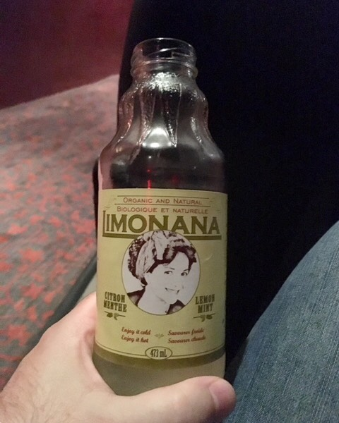 A happy camper at the Hot Docs Festival sent us this picture!  Don't forget to ask for the most ethical and delicious refresher next time you visit the Bloor Cinema: Limonana!