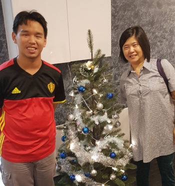 Eng Yeow and Mum