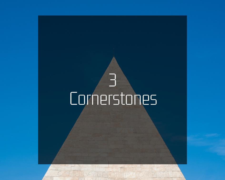 3 Cornerstones - Alessandro Mastroianni's Blog