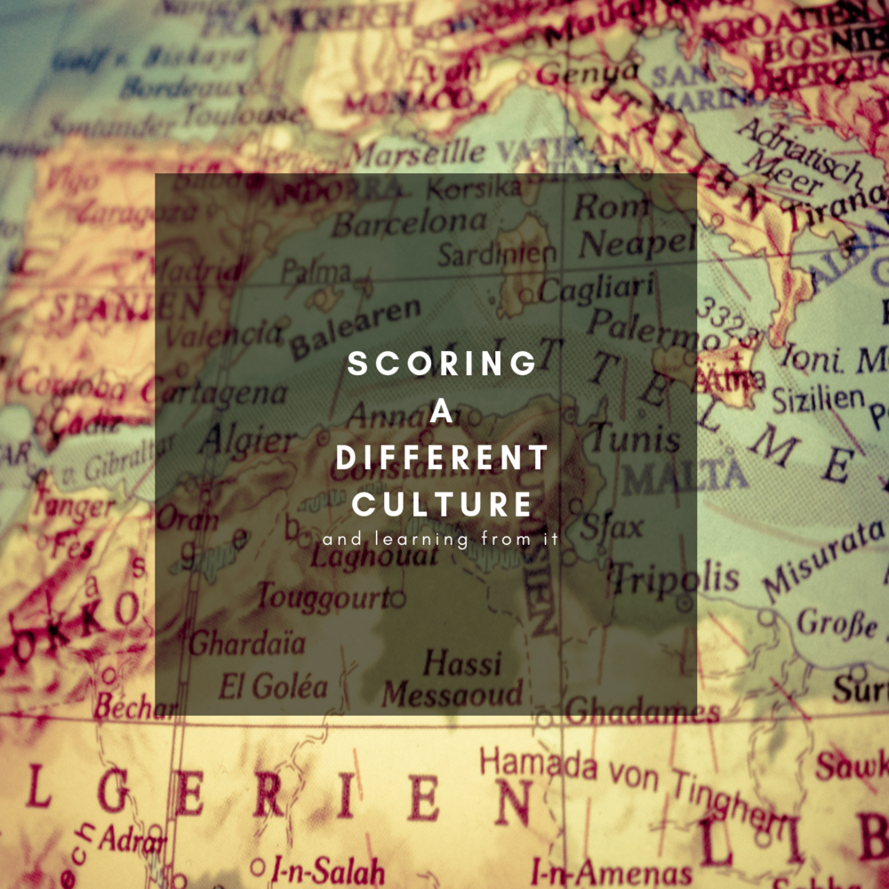 Scoring a Different Culture - Alessandro Mastroianni's Blog