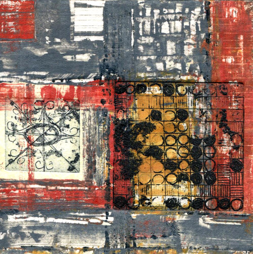 Vintage Fabric Square 10