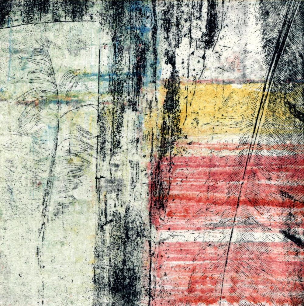 Vintage Fabric Square 12