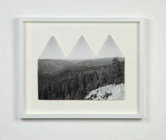 "Making A Mountain Range Out Of A Mole Hill, 2012, 10.25"" x 14"""