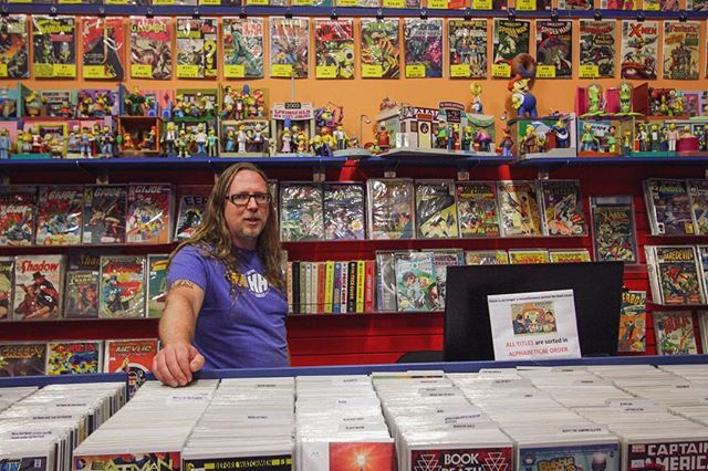 Just a quick #throwbackthursday post to let you know I'm working on some new interviews to throw at you in June! • • • #portraitsofedmonton #yeg #yeggers #edmonton #exploreedmonton #yegdt #shoplocal #comicbookstore #happyharborcomics #portraitphotography #portrait #nerdshit #interview #blog #yegphotographer #yegphotography #edmontonphotographer #edmontonphotography #smallbusiness