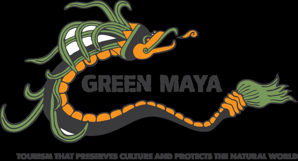 Green Maya Logo