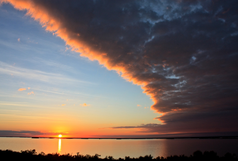 Sunset at Punta Laguna