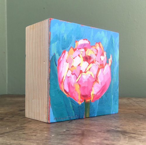 """Click on the image to see more """"portable"""" panel box paintings."""
