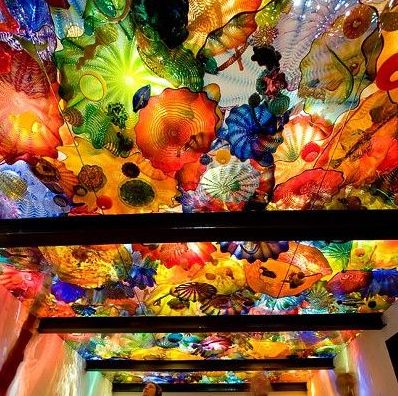 Dale Chihuly's  Persian Ceiling  at the VA Museum of Fine Art