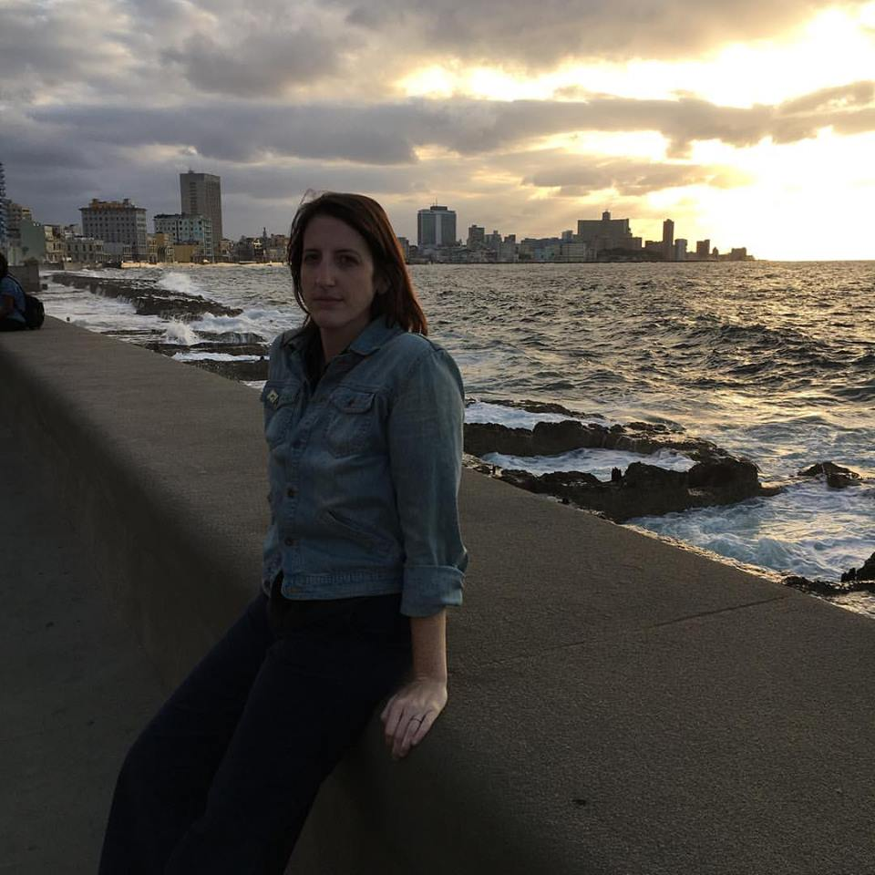 Strolling along the Malecon at sunset. Not pictured: me and Jack getting hit by a huge wave five minutes later.