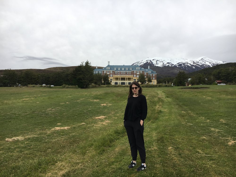 The Overlook aka Chateau Tongariro Hotel.