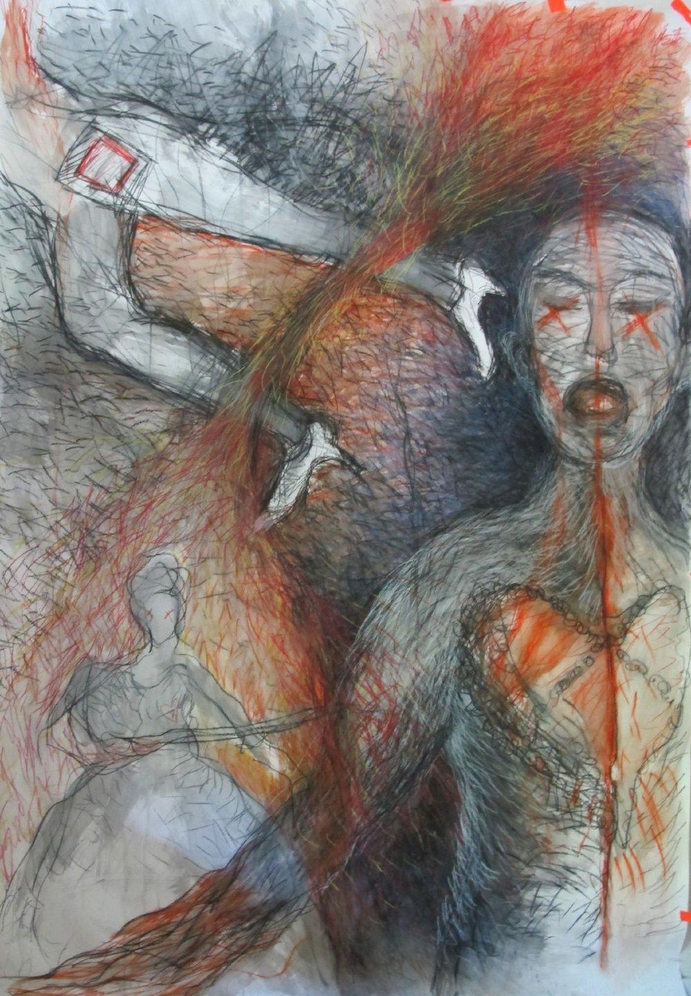 Metal Heart 2011 (220cm x 150cm)