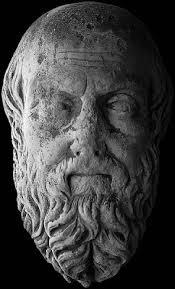 Busto de Heródoto de Halicarnaso, el primer historiador del mundo griego.