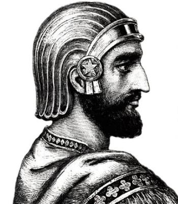 Ciro II el Grande, primer Rey de Reyes persa y fundador del primer Imperio Universal de la historia.