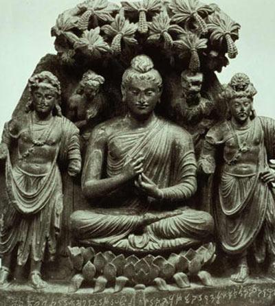 Imagen de Chandragupta, primer emperador del imperio Mauria. Su principal consejero fue el Brahamán Kautilya.