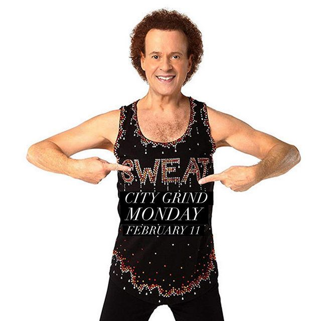 #LoveFest at @citygymkc is happening next week. There are special themed classes that we've planned for all the members we love so much. ❤️ First up, #CityGrind at 5am on Monday, February 11, we'll be sweatin' to the oldies. ❤️ I've channeled my inner #RichardSimmons and made the most fun playlist for you all. The class format will remain the same, but the music will be a mix if your favorite oldies! ❤️ For each #LoveFest class, each member can bring a non member as a guest for free! So invite a friend, a neighbor or a galentine and join us for a fun and sweaty morning! ❤️