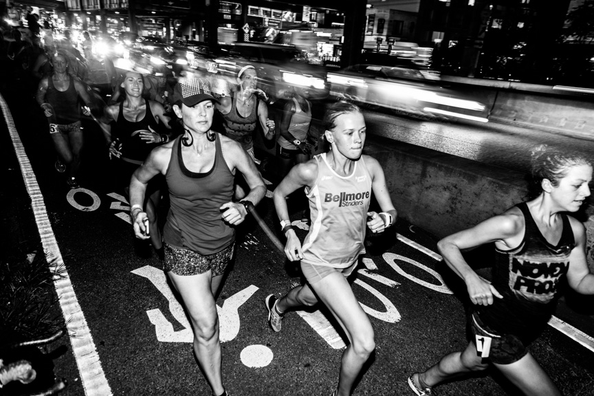 "Photo by Christophe Tedjasukmana (@menblowsmoke) ""As a runner, it is a little intimidating…[to] see just how hard the conditions were on these crazy fast ladies that I look up to.""         Tim Rossi, three-time placer in TTB top 5"