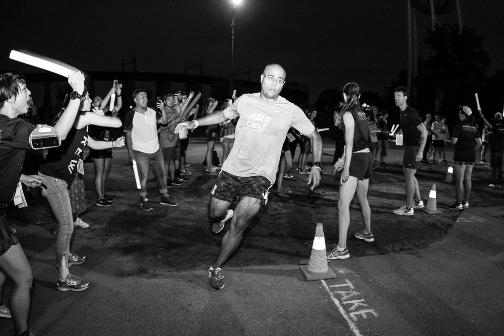 """The course was tough, I knew the whole route like the back of my hand because I live up the street. I told someone that night, I compare the tunnel to Central Park, no matter how many times you do it, it never changes.""  -  George Grullon  