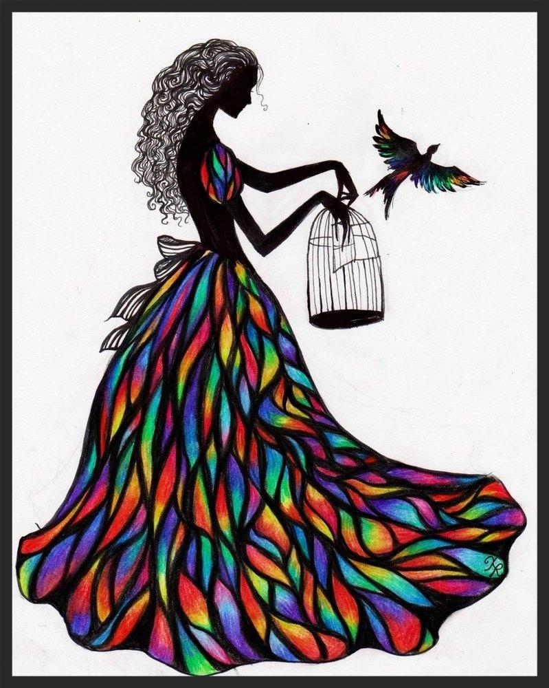 Freedom by La Chapeliere Folle