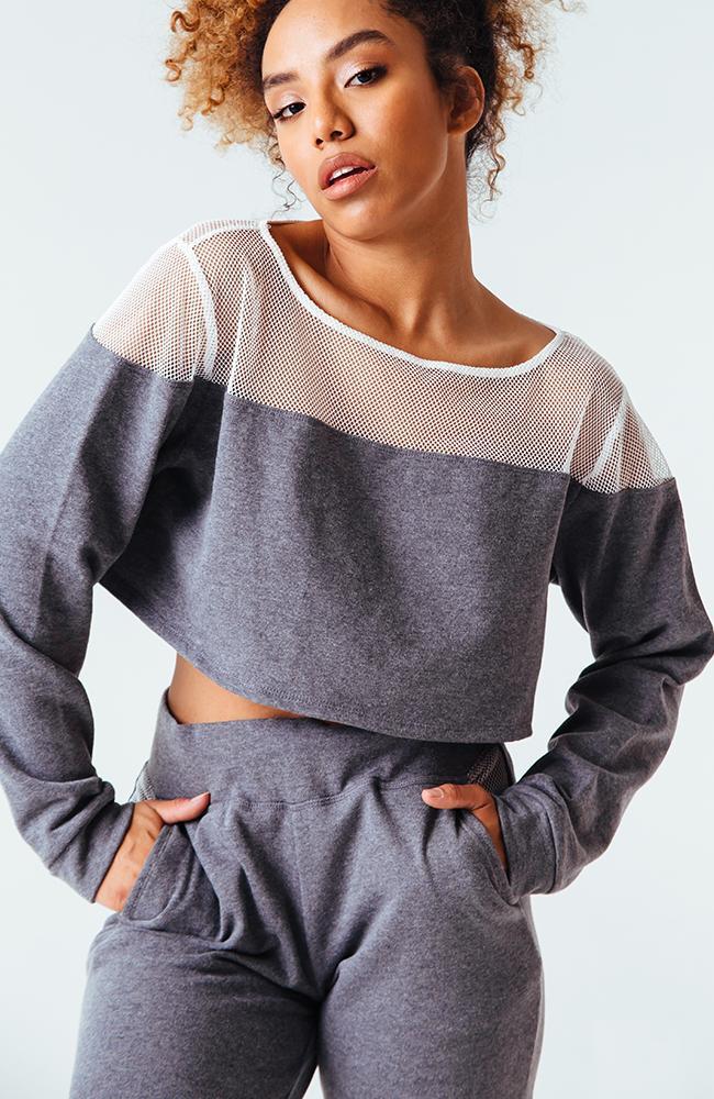 Weekend Cropped Sweatshirt - $60.00