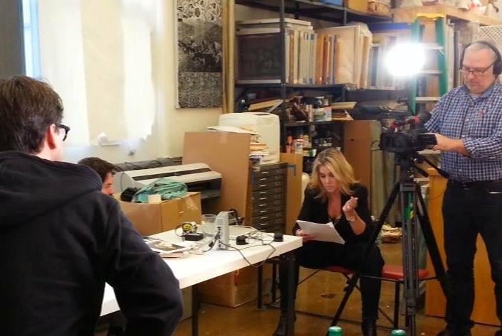 Sarah Hasted interviews painter Marc Dennis