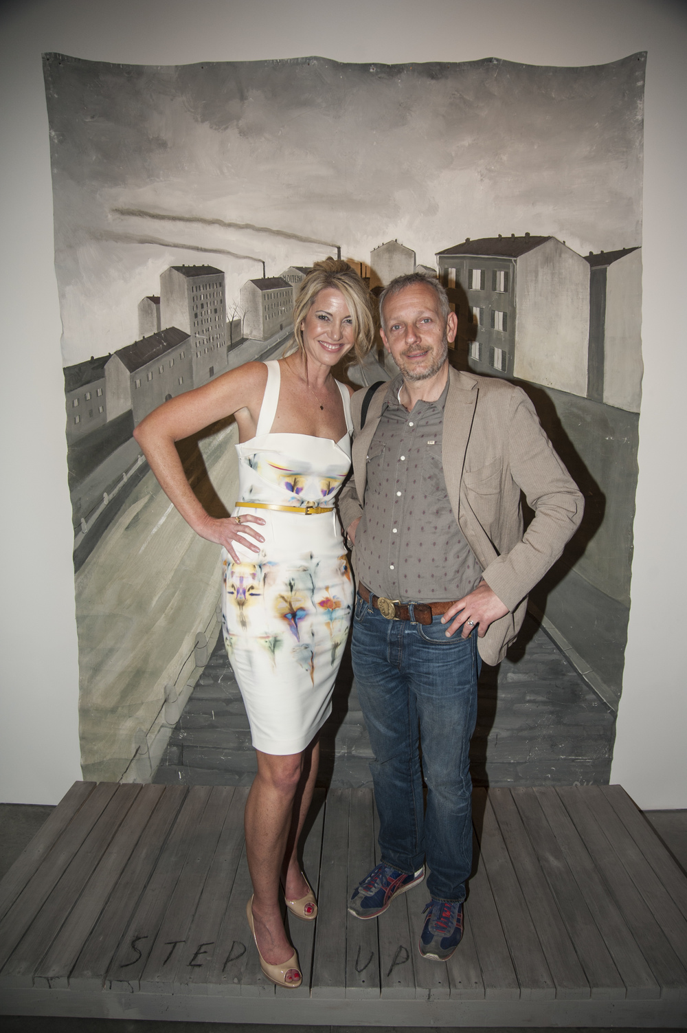 Sarah Hasted and Italian artist Paolo Ventura