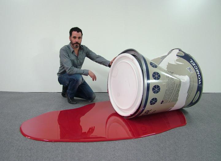 Spanish artist, Romulo Celdran: 2012