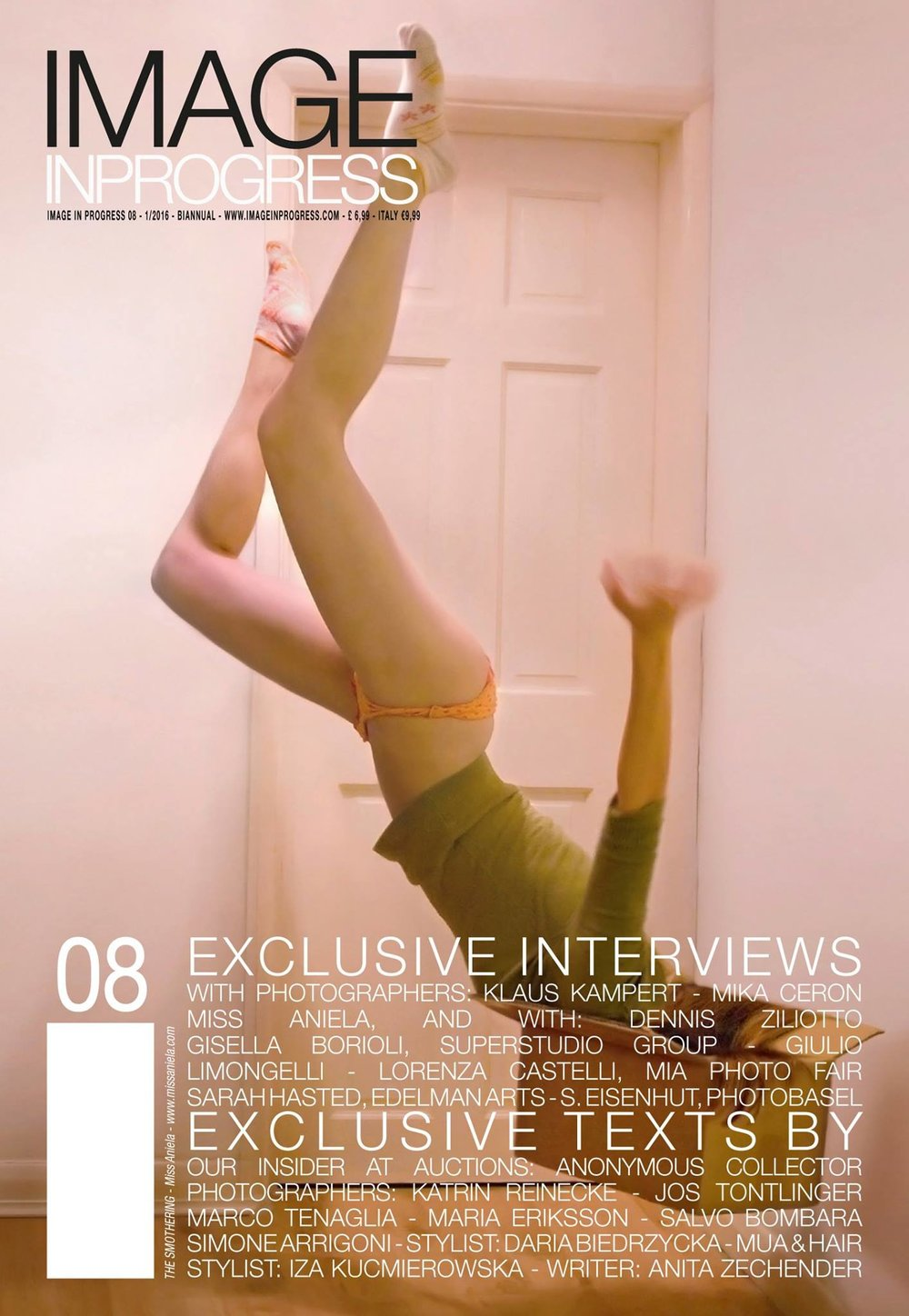 Sarah Hasted featured in Issue 08 of Image in Progress Magazine 2016