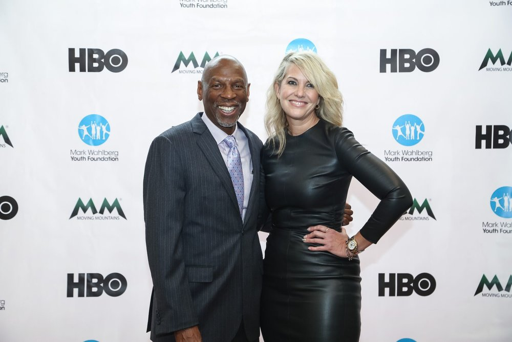 Sarah Hasted and Geoffrey Canada