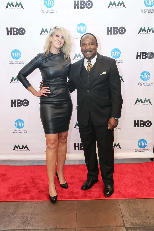 Sarah Hasted and Isaiah Whitlock