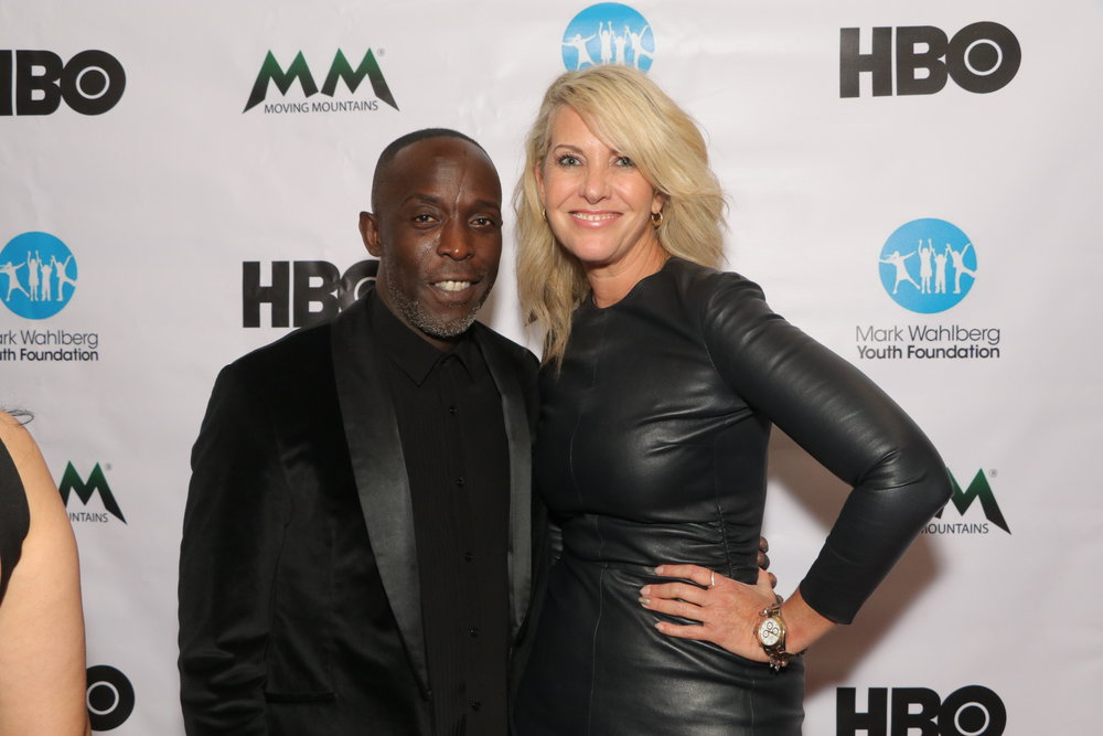 Actor, Michael K. Williams and New York Art Dealer, Sarah Hasted