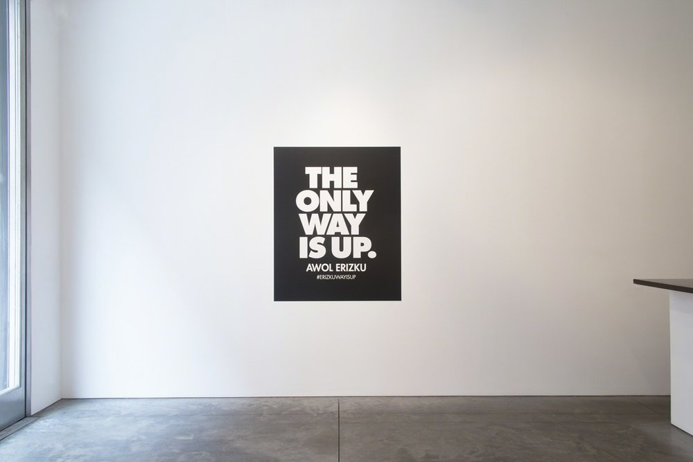 Awol Erizku: The Only Way is Up, 2014