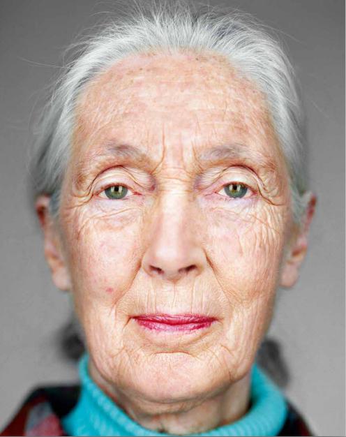 Dr. Jane Goodall, 2010