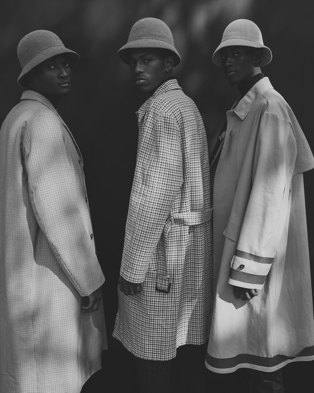 Three Men , 2018   ONLY SOLD FRAMED 11 x 14 inches Edition of 3 + 2 APs $3,000 30 x 40 inches Edition of 3 + 2 APs $5,000