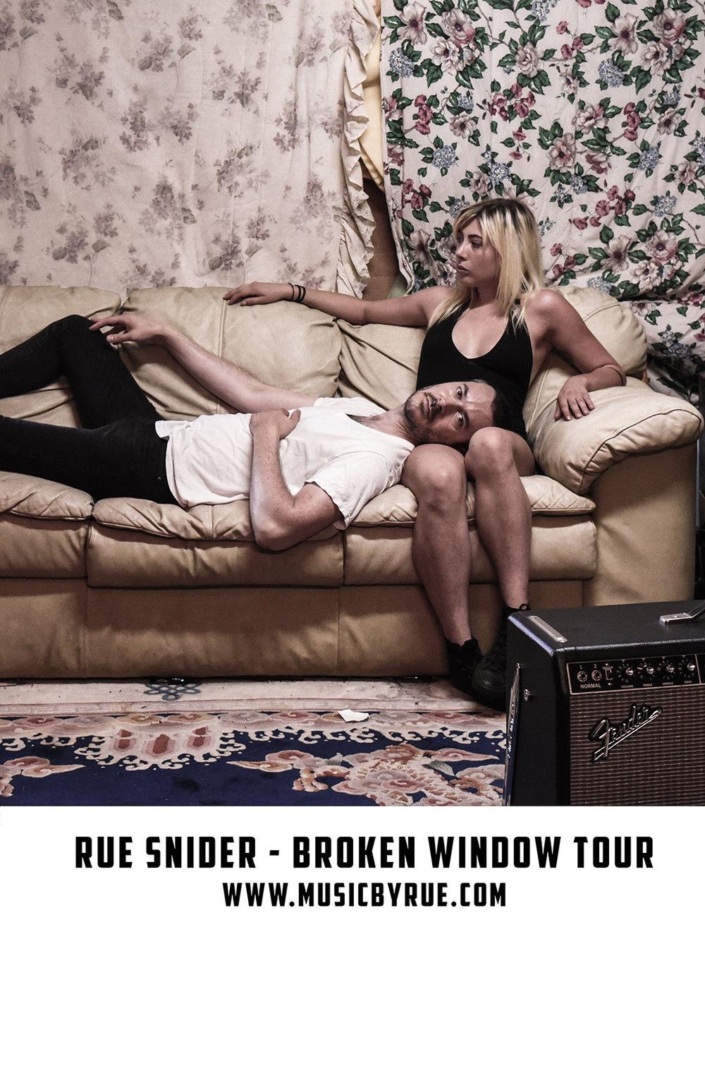 Broken Window Tour Poster
