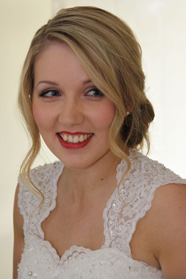 Bridal makeup for Natalie and her review Bath and Somerset