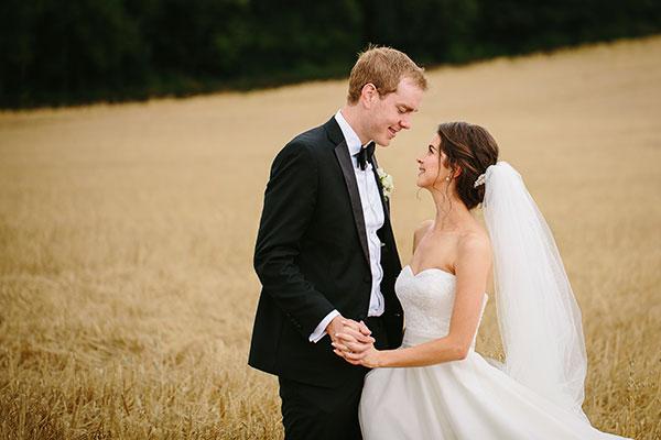 Rose bridal make up in Somerset